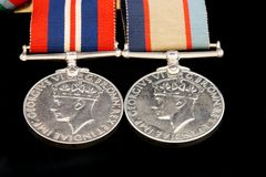 War Medals Royalty Free Stock Photos
