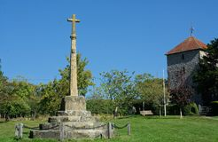 Free War Memoria & St Mary The Virgin Church, Stopham, Sussex, UK Royalty Free Stock Images - 159741299