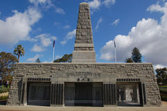 War memorial. ANZAC war memorial in Kings park, Perth Royalty Free Stock Image