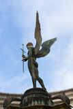 War Memorial Angel Statue with Sword Stock Photos