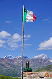 War Memorial, Gavia Mountain Pass, Italy Royalty Free Stock Photography