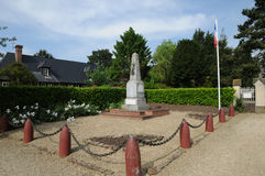 War memorial of Beuvron en Auge in Normandie Royalty Free Stock Image