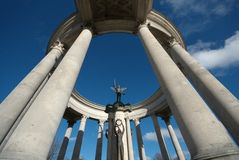 War memorial cardiff wales Royalty Free Stock Image