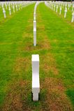 War memorial cemetery Stock Image