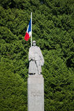 War Memorial with General Foch Royalty Free Stock Photography