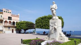 War memorial at Giardini Naxos Royalty Free Stock Images