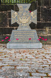 War memorial, Glasgow for Victoria Cross. This stone was erected on behalf of the people of Glasgow to commemorate Glaswegians who were awarded the Victoria Stock Images