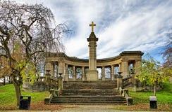 War memorial in Greenhead park Royalty Free Stock Images