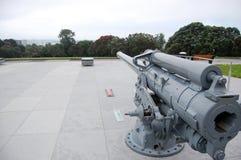 War memorial gun Auckland Domain Royalty Free Stock Images