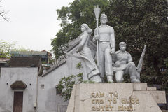 War memorial in Hanoi Stock Photos