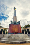 War Memorial -  Heroes Monument of Red Army on Schwarzenbergplatz in Vienna, Austria Royalty Free Stock Image