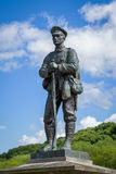 War Memorial in Ironbridge Shropshire Stock Image