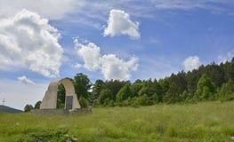 War Memorial in Jelovice Stock Photos