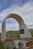War Memorial in Jelovice Stock Photography