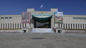 War Memorial of Korea, Jeonjaeng ginyeomgwan, Yongsan-dong, Seoul, South Korea - NOVEMBER 2013 Royalty Free Stock Photo