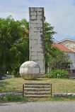 War Memorial in Kula Norinska Stock Images