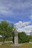 War Memorial in Male Mune Stock Photography