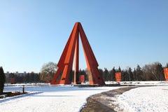 War memorial or memorial Eternitate, Kishinev Chisinau Moldova Stock Photo