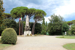 War Memorial in Montecatini Terme Royalty Free Stock Photography