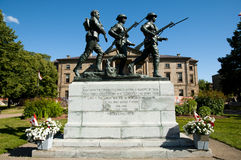 War Memorial Monument - Charlottetown - Canada Stock Photography