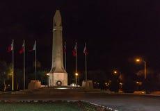 War Memorial. Monument at Floriana, Malta Royalty Free Stock Image