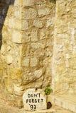 War Memorial, Mostar Stock Photo