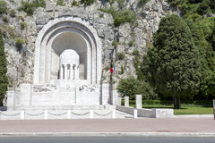 War Memorial in Nice Royalty Free Stock Images