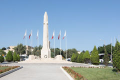 War memorial obelisk Stock Photos
