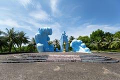 War memorial, Phu Quoc Island, Vietnam. Stock Photos