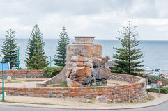 War Memorial at The Point in Mosselbay Royalty Free Stock Photography
