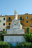 War memorial in Port Hercule, Tuscany Stock Photo