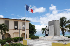 War memorial of  Port Louis in Guadeloupe Royalty Free Stock Image