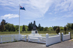 War Memorial, Rangiwahia Stock Photography