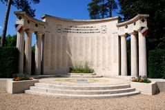 War memorial in Saint-Germain-en-Laye Royalty Free Stock Image