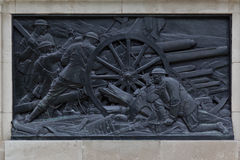 War Memorial in Saint James Park London Royalty Free Stock Images