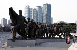 War Memorial. Seoul. South Korea. Royalty Free Stock Photography