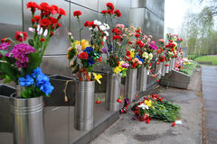 War memorial on Sinyavino Heights Stock Photo