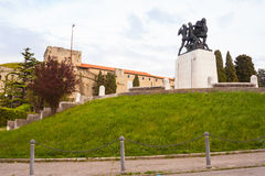 War memorial in St. Giusto hill, Trieste - Italy Stock Photography
