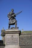 War memorial to Highlanders Stock Images