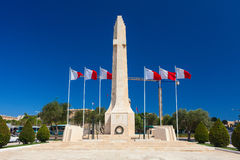 The War Memorial. Valletta, Malta. Stock Photography