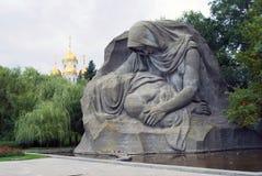 War memorial in Volgograd, Russia Stock Photo