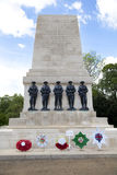 War monument in front of Admiralty House, London Westminster, Royalty Free Stock Image