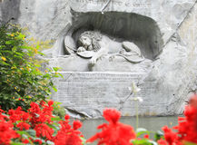War monument of Luzern Royalty Free Stock Photo