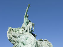 The war monument in Marseille in France Stock Photography