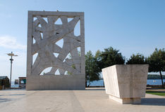 War Monument in Rovinj Royalty Free Stock Image