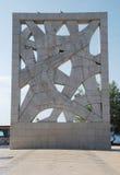 War Monument in Rovinj Stock Photos