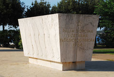 War Monument in Rovinj Stock Images