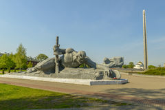 War monument to the brave, Brest fortress, Belarus Stock Photos
