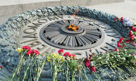 War monument for the unknown soldier in Ukraine Stock Images