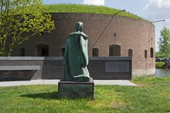 War monument in Weesp Stock Photography
